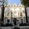 Victoria et David Beckham seraient les nouveaux propriétaires de cette maison à Londres pour 48 millions d'euros. Photo du 26 novembre 2013.