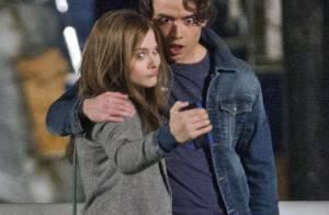 Chloë Moretz, 16 ans : Tendre baiser avec un mystérieux Britannique de 22 ans