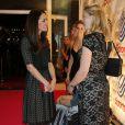 Kate Middleton au gala de charité annuel SportsBall à Londres, le 28 novembre 2013.