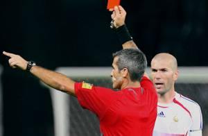 Zinédine Zidane et son coup de tête : 7 ans après, l'arbitre brise le silence...