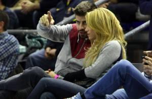 Shakira et Piqué réunis : ''L'amour véritable'' devant un bon match de basket