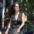 Courteney Cox à West Hollywood. Le 16 août 2013.