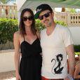 David Arquette et sa girlfriend Christina McLarty à Los Angeles, le 13 avril 2013.