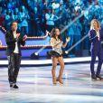 EXCLUSIF. Sarah Abitbol et Gwendal Peizerat lors du premier prime Ice Show, le 27 novembre 2013, sur M6