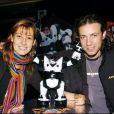 Philippe Candeloro et sa femme Olivia en 2004.