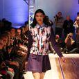 """Diva Cam lors du défilé de la marque créateur """"AS I AM"""", - collection printemps/été 2014 - à la galerie Nikki Diana Marquardt à Paris, le 4 decembre 2013"""