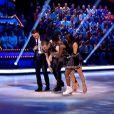 """Norbert chute en direct dans """"Ice Show"""" (M6), mardi 4 décembre 2013. Le candidat s'est fait mal à la cheville."""