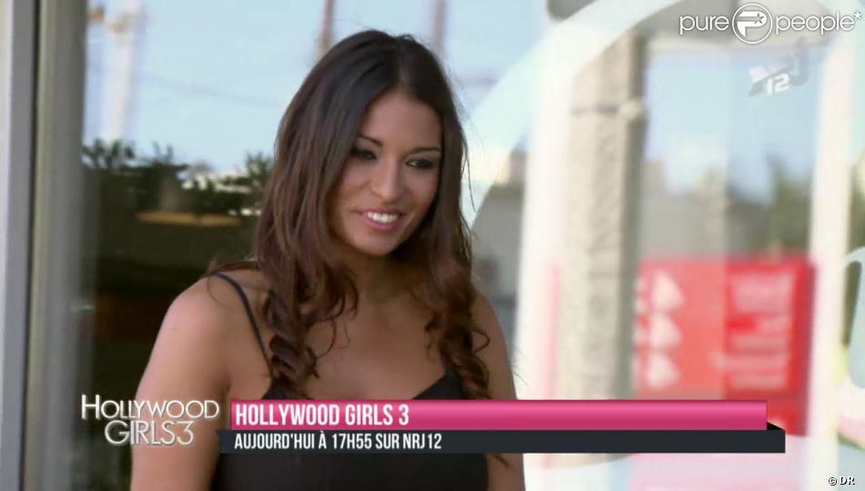La bombe Livia (Le Bachelor) fait ses premiers pas dans Hollywood Girls 3 sur NRJ12 le lundi 2 décembre 2013