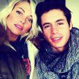 Caroline Receveur et son fiancé Valentin : amoureux - Twitter