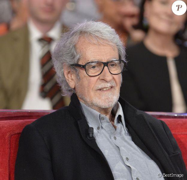"""Edouard Molinaro lors de l'émission """"Vivement Dimanche"""" à Paris le 4 juin 2013"""