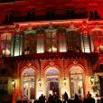 L'hôtel Le Marois a accueilli lors du 16e Bal de Paris à l'hôtel Le Marois. Paris, le 7 décembre 2013.