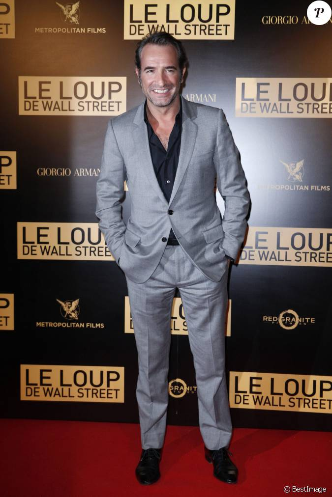 Jean dujardin lors de l 39 after party du film le loup de for Jean loup dujardin