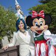 Demi Lovato à Disneyland, le 9 novembre 2013.