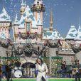 Demi Lovato chante à Disneyland en Californie, le 9 novembre 2013.