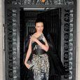 Miranda Kerr assiste à l'inauguration de la nouvelle boutique Just Cavalli dans le quartier de SoHo. New York, le 12 décembre 2013.