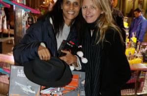 Karine Silla et Sarah Lavoine : Duo d'épouses radieuses pour une soirée féérique
