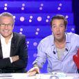 Nicolas Bedos et Laurent Ruquier dans On n'est pas couché sur France 2, le samedi 21 décembre 2013.