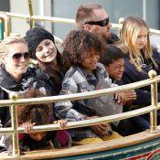 Heidi Klum : Détente et gros frissons avec les enfants !
