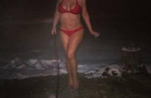 Mariah Carey, pulpeuse : En bikini à la neige, une ''tradition'' très sexy