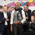 """""""Exclusif - Défilé de la marque Almire avec le top model Satya Oblette. Paris, le 15 décembre 2013."""""""