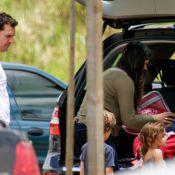 Matthew McConaughey et Camila Alves: Farniente au Brésil... avec leurs 3 enfants