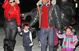 Mariah Carey : Maman sexy en minijupe avant Noël, elle poursuit ses vacances