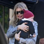 Fergie : Radieuse pour le premier Noël de son fils Axl, en famille