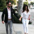 Eva Longoria et son petit-ami Jose Antonio Baston à West Hollywood, Los Angeles, le 27 décembre 2013.