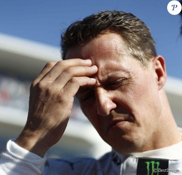 Michael Schumacher, à Austin, au Texas en novembre 2012.