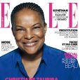 Christiane Taubira en couverture du Elle du 22 novembre 2013