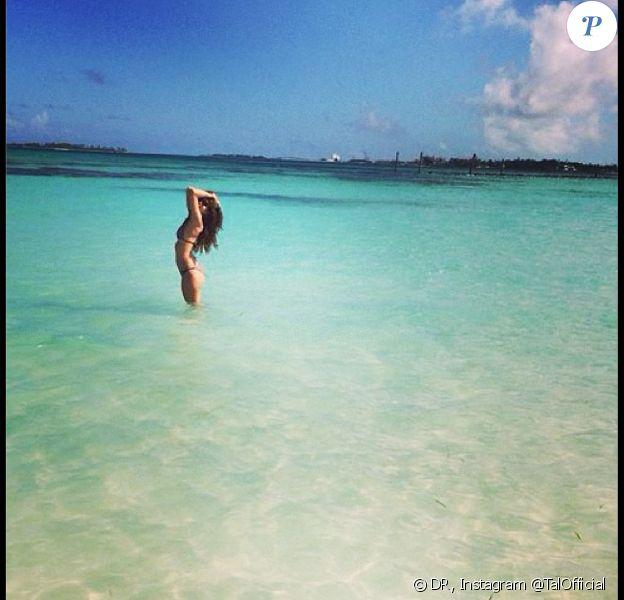 Tal aux Bahamas, le 31 décembre 2013.