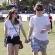 Emma Roberts, Evan Peters à Coachella le 13 avril 2013.