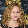 Isabella Acres lors de la première de la série The Spoils Of Babylon au DGA Theater à Los Angeles, le 7 janvier 2014.