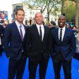 Paul Walker, Vin Diesel et Tyrese Gibson à Londres le 7 mai 2013.