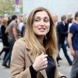 Julie Gayet à Lyon le 19 Octobre 2013.
