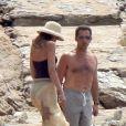 Nicolas Sarkozy et sa femme Carla