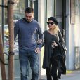 Exclusif - Christina Aguilera fait du shopping avec son petit ami Matthew Rutler à West Hollywood, le 8 janvier 2014.