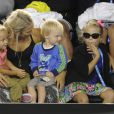 Australia's Lleyton Hewitt family, His wife Beck with the kids during Kids day at the Australian Open tennis tournament at Melbourne Park in Melbourne, Australia on January 11, 2014. Photo by Corinne Dubreuil/ABACAPRESS.COM11/01/2014 - Melbourne