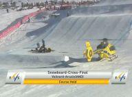 Paul-Henri De Le Rue : Le snowboarder hospitalisé après une terrible chute