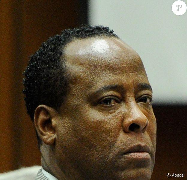 Dr. Conrad Murray lors de son procès pour homicide involontaire, le 3 novembre 2011 à Los Angeles.