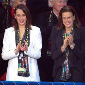 Stéphanie de Monaco et Pauline Ducruet, sexy en transparence, fans au cirque