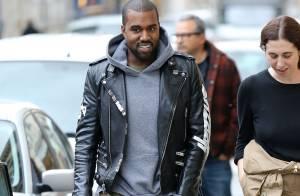 Kanye West : Souriant à Paris, il oublie ses ennuis judiciaires