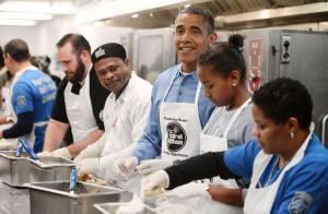 Barack Obama : Cuistot roi du burrito au côté de Michelle et ses filles
