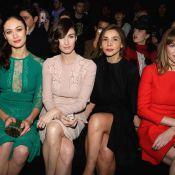 Fashion Week : Clotilde Courau, Paz Vega, Olga Kurylenko, glamour chez Elie Saab