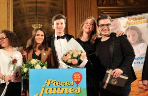 Joyce Jonathan et Olympe, duo glamour et généreux pour le Gala des Pièces Jaunes