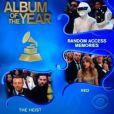 Taylor Swift dans le public lors des Grammy Awards, le 24 janvier 2014 à Los Angeles.