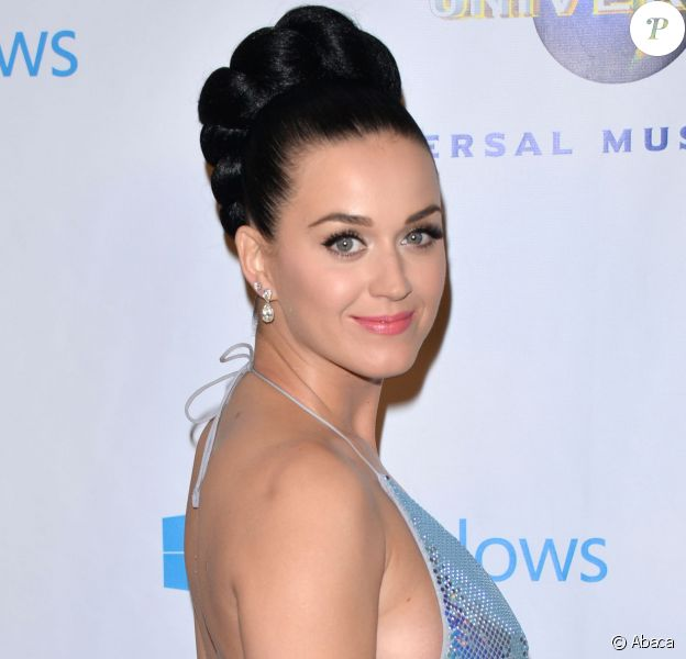 Katy Perry assiste à l'after-party des Grammy Awards, organisée par le label Universal Music Group, au Theatre de l'hôtel Ace. Los Angeles, le 26 janvier 2014.