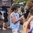 Anaïs (Secret Story 7) esur le tournage des Anges de la télé-réalité 6, à Sydney, en Australie.