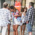 Anaïs (Secret Story 7) à Sydney, en Australie, le 20 janvier 2014, pour le tournage des Anges de la télé-réalité 6.
