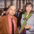 Gérard Jugnot et Anémone lors de la fête du cinéma (photo d'archive)
